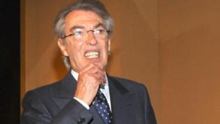 """Inter, Moratti: """"Conte ha un dna pessimo, ma è bravo. Icardi? Hanno voluto fare i duri"""""""