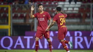 Pellegrini salva la Roma: 2-2