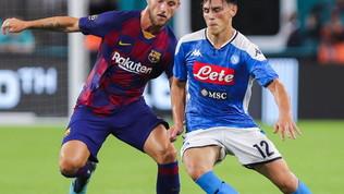 Il Napoli spaventa il Barcellona