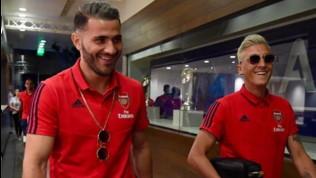 """Arsenal, Ozil e Kolasinac fuori per """"motivi di sicurezza"""""""