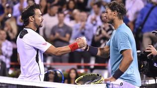 Tennis, Montreal: Fognini sogna per un set ma si arrende a Nadal