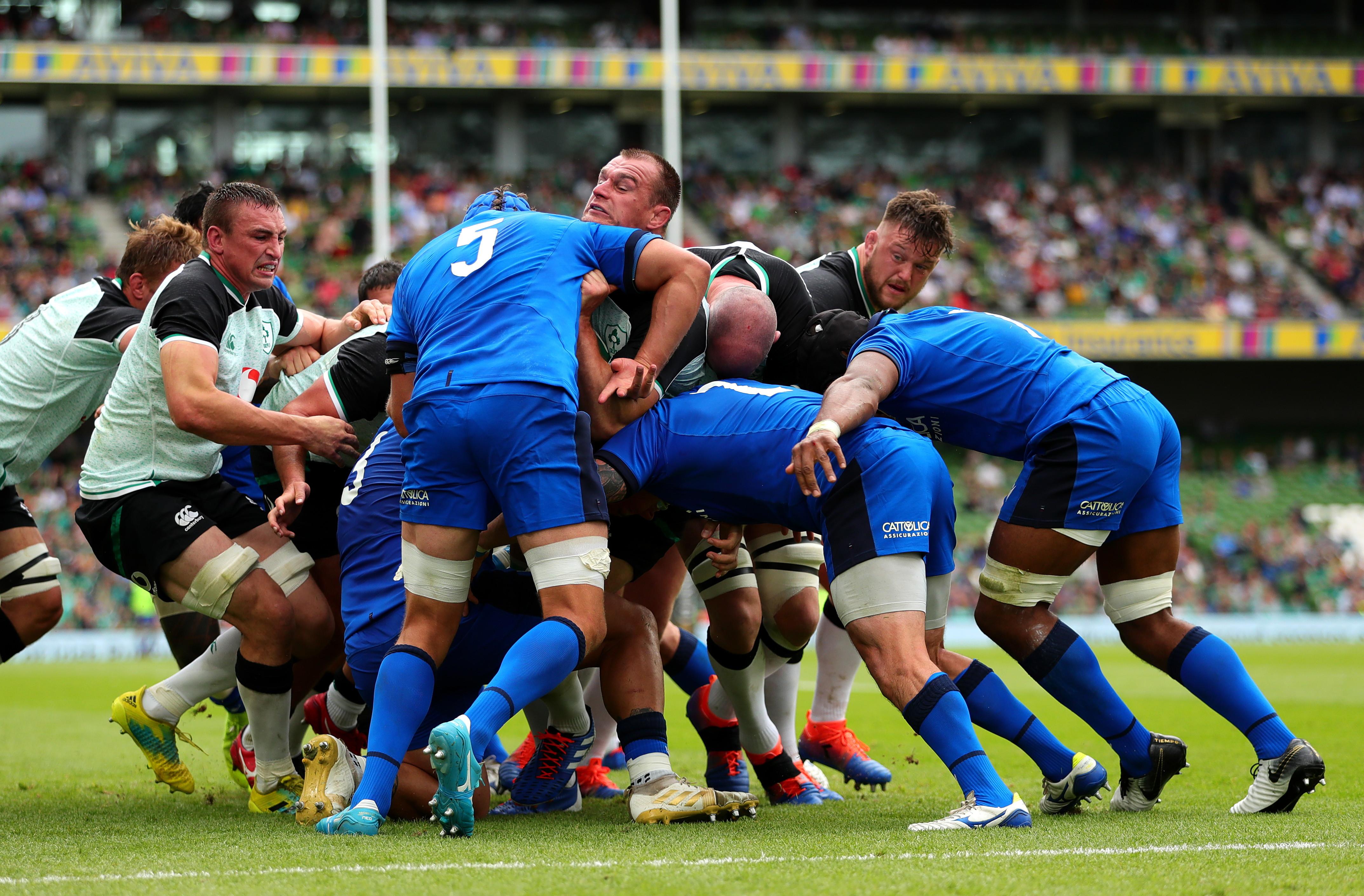 L&#39;Irlanda ha battuto l&#39;Italia per 29-10 (19-10) nel primo test di preparazione ai Mondiali di rugby che si svolgeranno in Giappone dal 20 settembre al 2 novembre. I punti degli azzurri sono stati realizzati da Mbanda e Canna, con una meta a testa, cinque invece quelle realizzate dagli irlandesi, con Carbery (per lui anche due trasformazioni), Kearney, Conway, Murphy e Marmion.<br /><br />