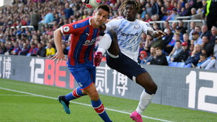 Kean, esordio senza gol in Premier: entra e l'Everton resta in dieci