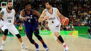 Basket, Teodosic ko: salta i Mondiali con la Serbia