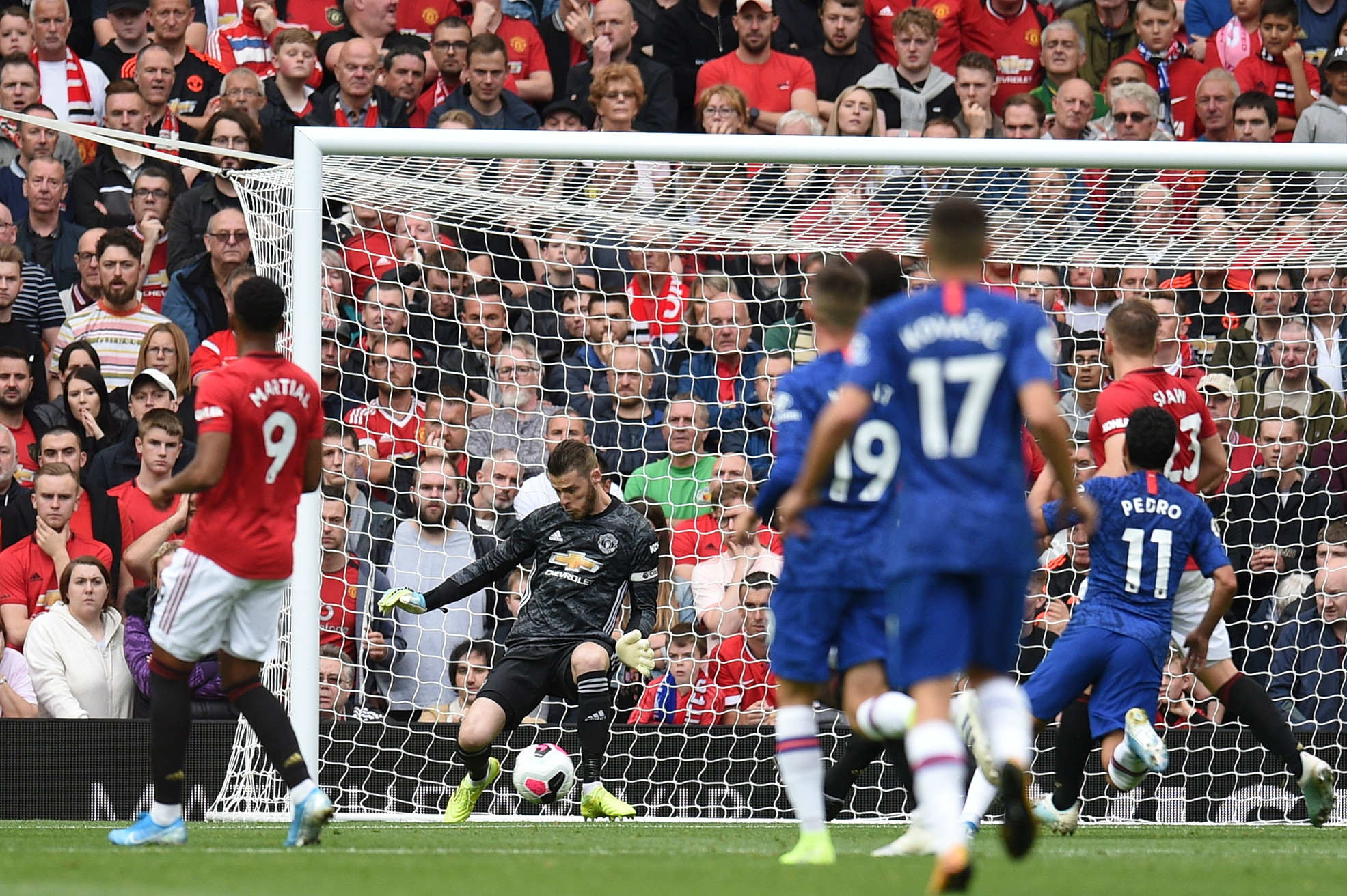 Doppietta di Rashford, gol di Martial e James: che scoppola per Lampard