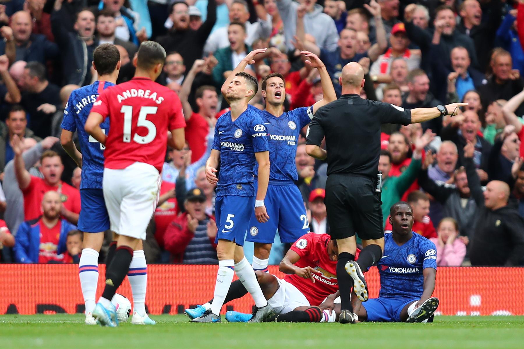 Doppietta di Rashford, gol di Martial e James: che scoppola per Lampard