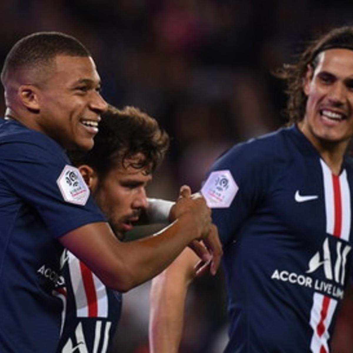 Ligue1: Cavani-Mbappe-Di Maria, Psg in scioltezza anche senza Neymar