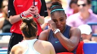 Serena, ancora lacrime amare