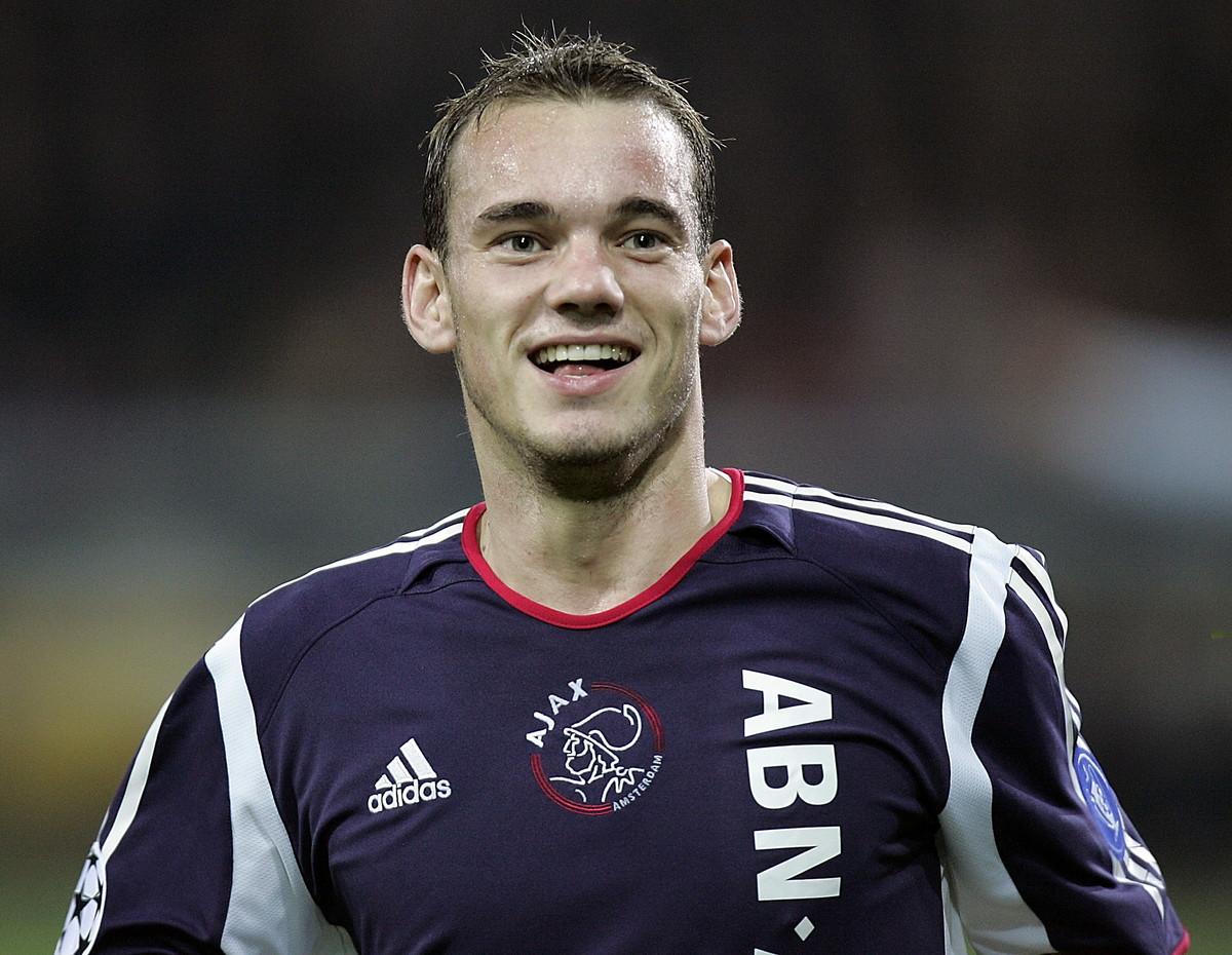 Wesley Sneijder ai tempi dell'Ajax (2002-2007)
