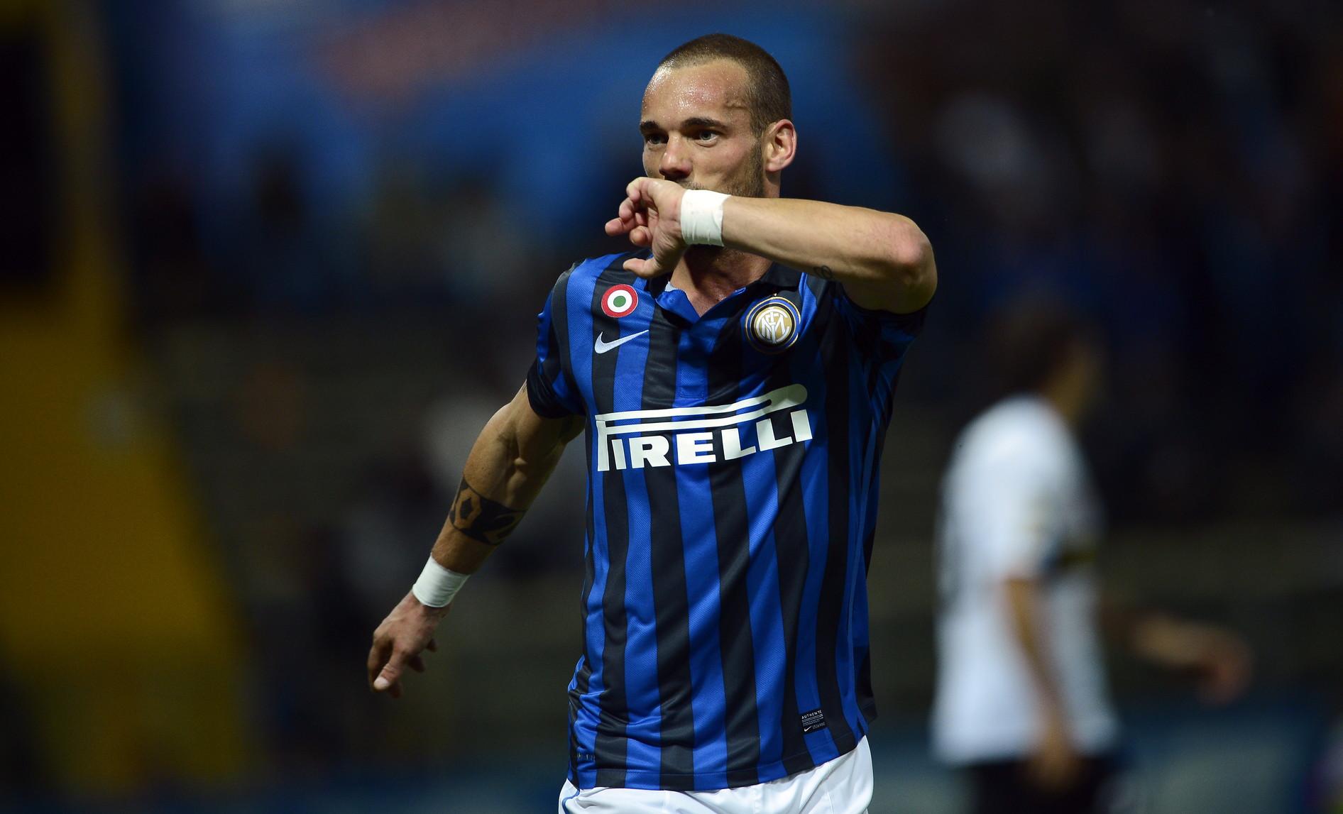 Wesley Sneijder ai tempi dell'Inter (2009-2013)