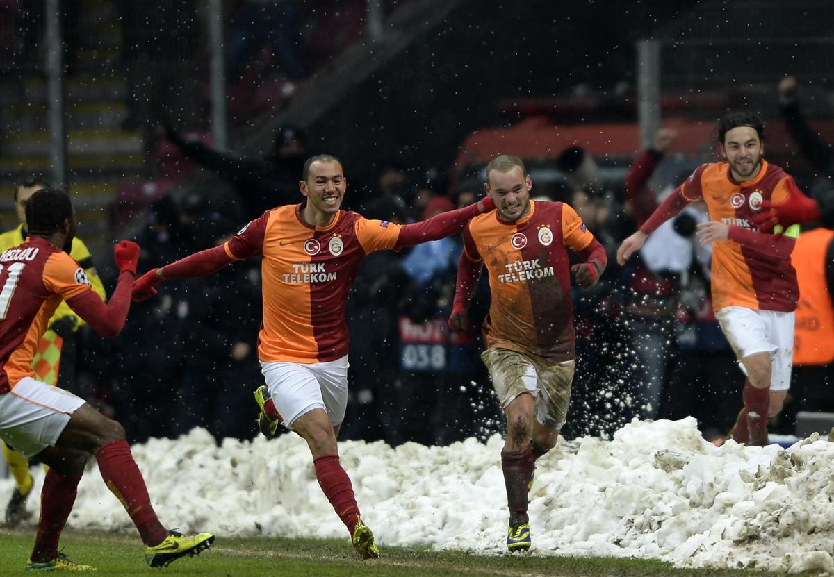 Wesley Sneijder ai tempi del Galatasaray (2013-2017)