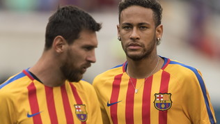 """Calciomercato, Messi chiama Neymar: """"Non andare al Real"""""""