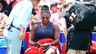 Tennis, la schiena non dà pace a Serena: US Open a rischio