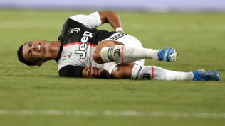Juve, si ferma Ronaldo: lieve affaticamento muscolare