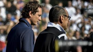 """Juve, Elkann: """"Sarrisi sente a casa, l'obiettivo di chi viene qui è vincere"""""""