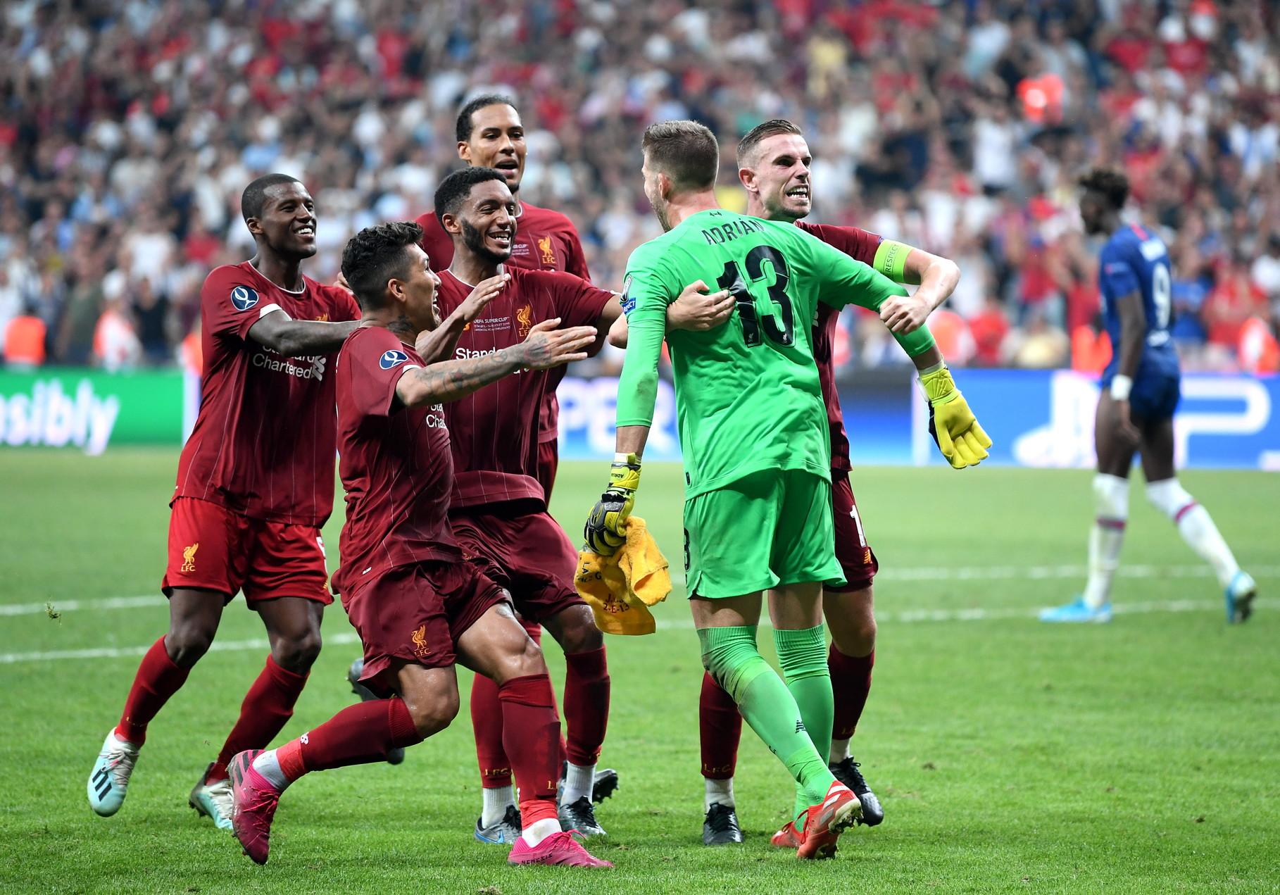 I Reds si impongono sul Chelsea per 7-6 dopo i calci di rigore. Decisivo l'errore di Abraham