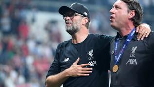 """Liverpool, Klopp: """"C'era da lottare, i ragazzi l'hanno fatto"""". Poi urla: """"Adriaaaan"""" alla Rocky"""