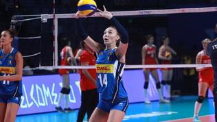 """Volley, la Pietrini lascia l'Italia per """"stanchezza fisica e mentale"""""""