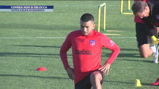 Correa-Milan non si sblocca