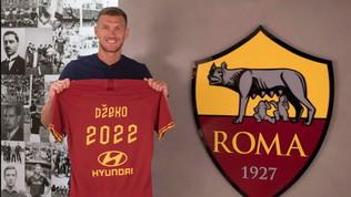 Roma, Dzeko rinnova fino al 2022