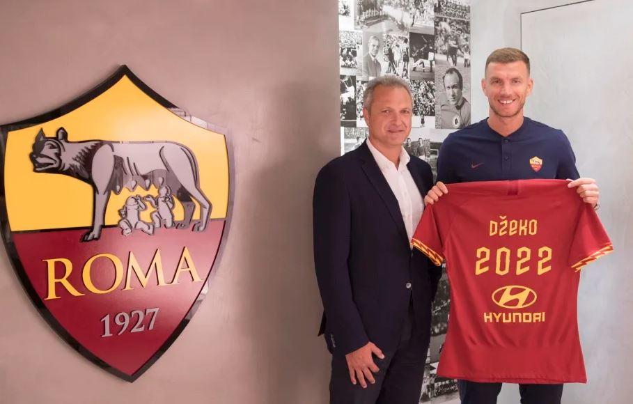 La Roma ha annunciato il rinnovo del contratto di Edin Dzeko: l'attaccante ha firmato fino al 30 giugno 2022. A questo punto il suo passaggio all&...