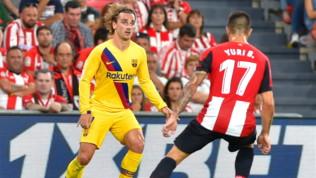 Liga, Athletic-Barcellona 1-0: decide Aduriz in rovesciata