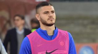 Effetto Dzeko, per Icardi in corsa 'solo' Napoli e Juventus