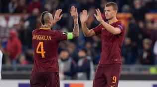 """Dzeko rinnova con Roma, Nainggolan esulta e si scatena la polemica: """"Mi fate ridere"""""""