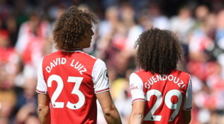 David Luiz-Guendouzi, i gemelli diversi dell'Arsenal