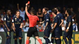 Real Madrid, Modric espulso: primo rosso in carriera nella Liga