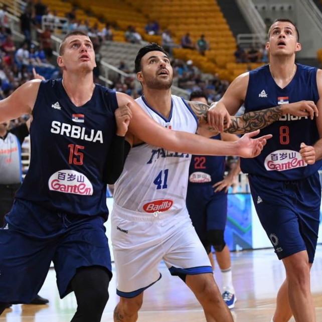Basket, Torneo dell'Acropoli: l'Italia regge un tempo, poi la Serbia dilaga 96-64