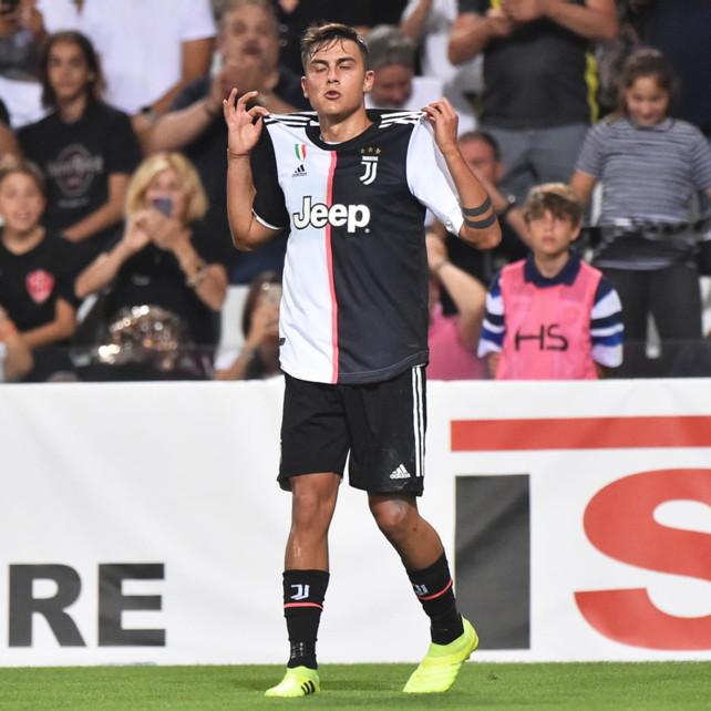 Amichevoli: capolavoro di Dybala, la Juventus piega la Triestina
