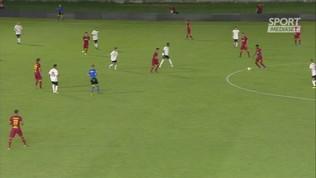 Roma, Dzeko gol: azione da manuale del calcio
