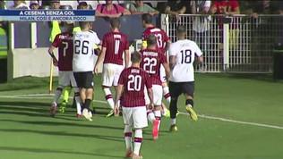 Milan a Cesena senza gol: 0-0