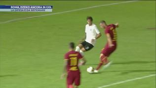 Roma, Dzeko ancora in gol