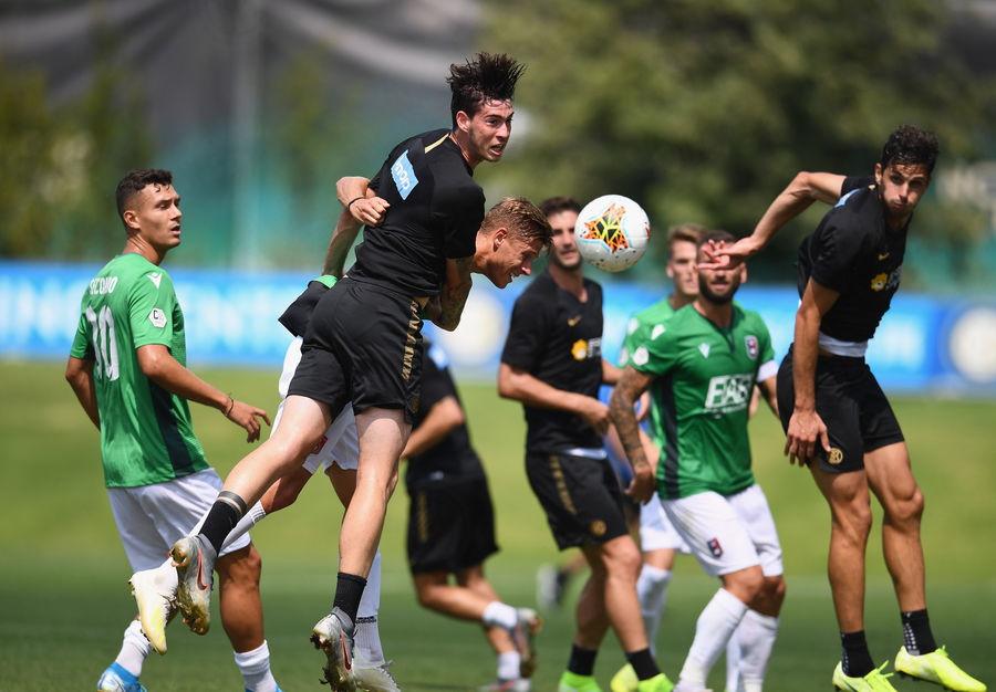 La firma del belga e di Politano nel 2-0 al Gozzano in amichevole