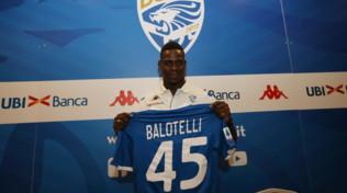 """Brescia, ecco Balotelli: """"Nessuna paura di fallire"""""""