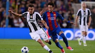 Juventus, le voci su Neymar fanno volare il titolo in Borsa