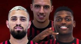 """Leao: """"Il Milan un sogno.Spero di fare tanti assist a Piatek"""". Duarte: """"Pronto a mangiare l'erba per giocare"""""""