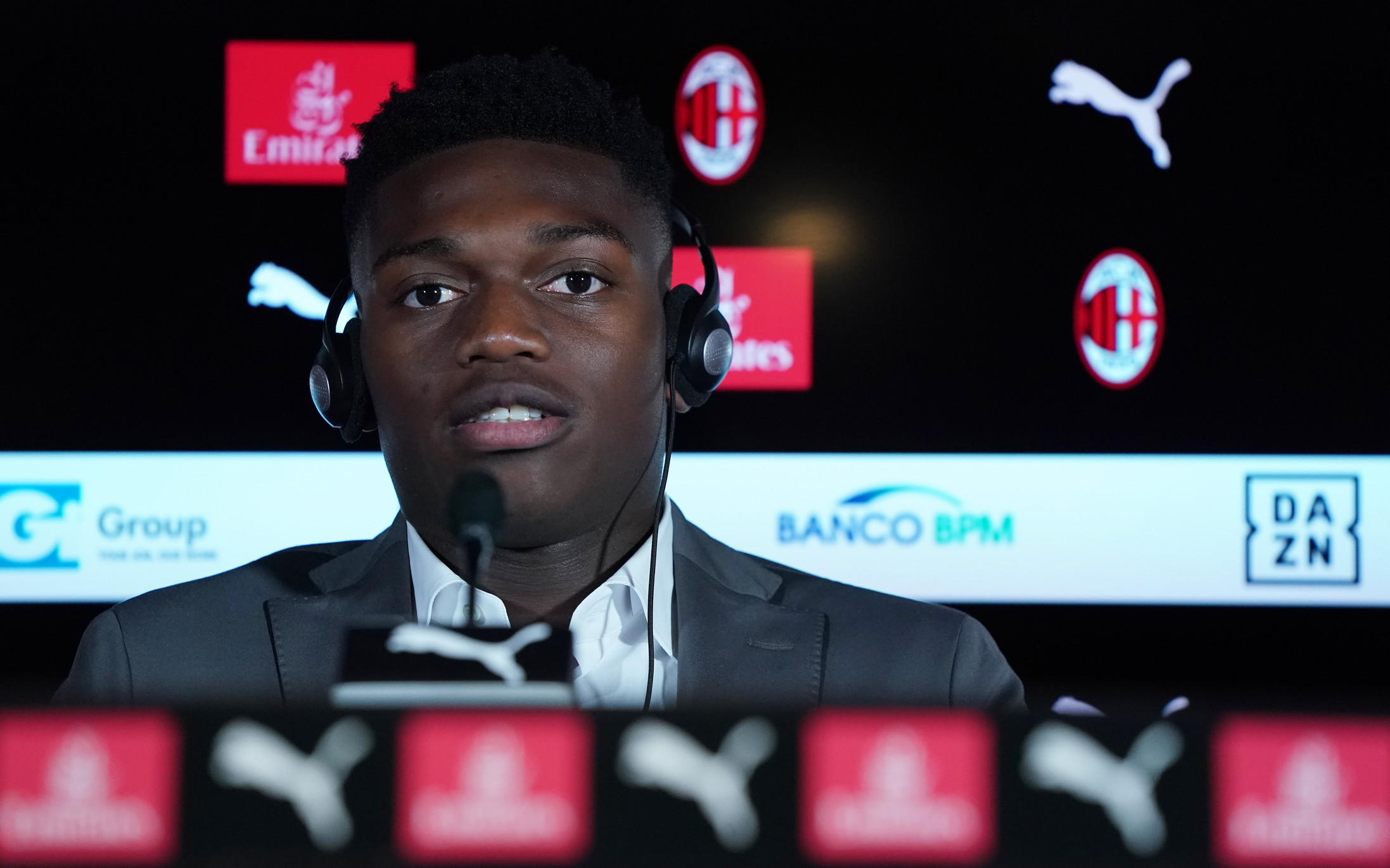 Prime parole ufficiali da giocatori del Milan