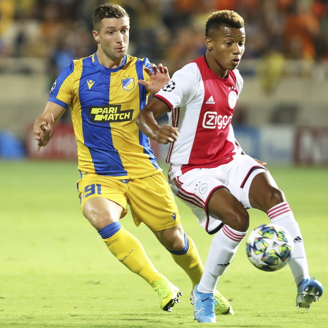 Champions League: l'Ajax fatica, solo 0-0 a Nicosia