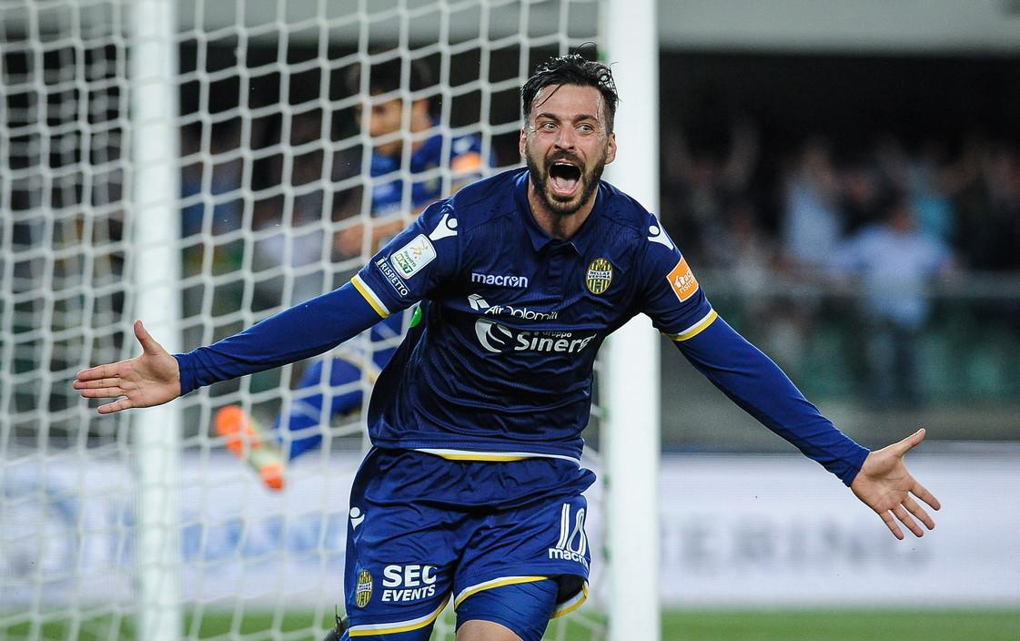 Di Carmine (Verona) - Un turno rimediato in Serie B