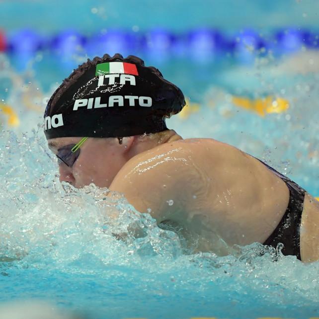 Nuoto, Mondiali juniores: Pilato oro nei 50 rana