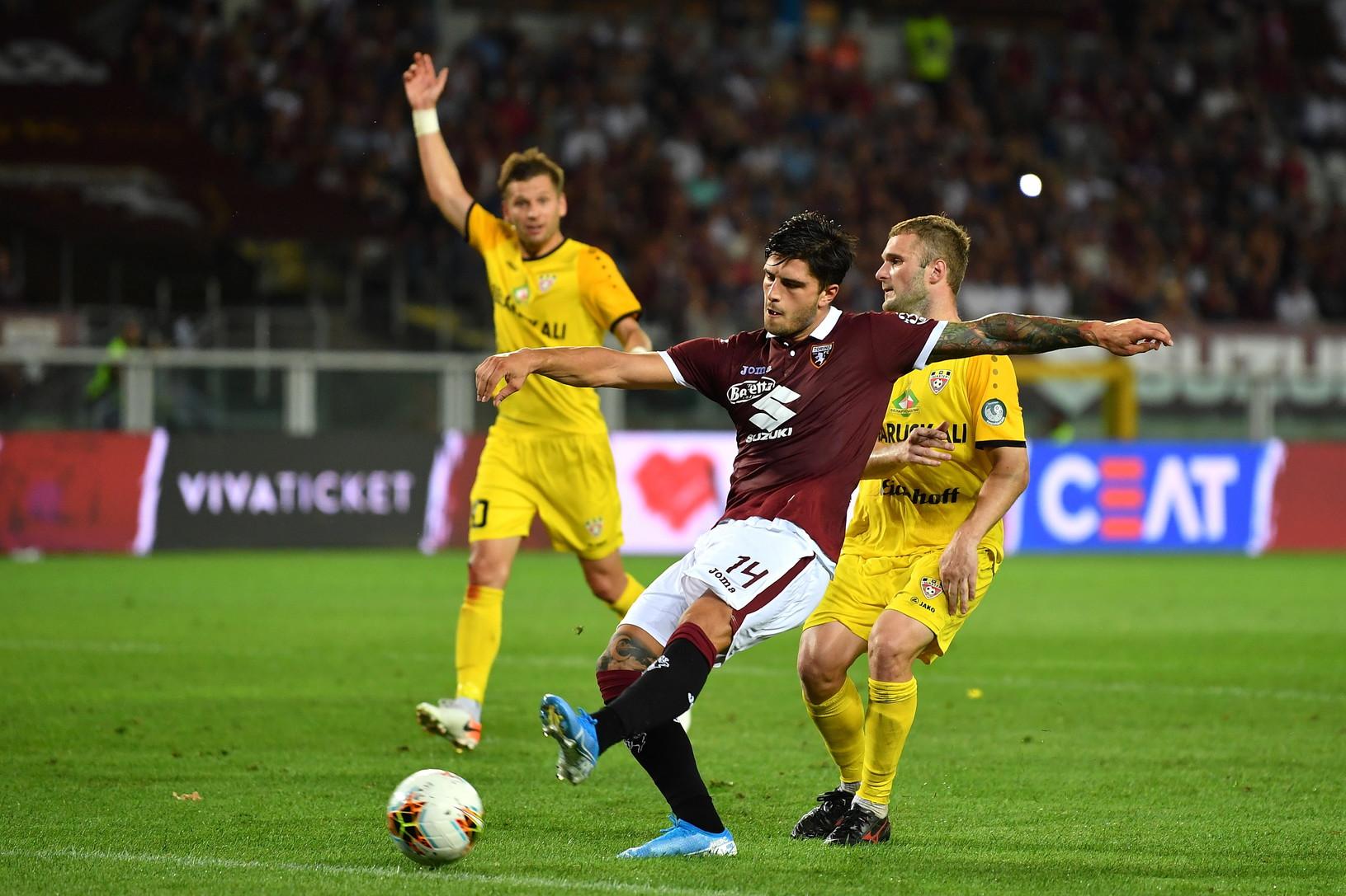 Kevin Bonifazi, difensore del Torino, rientrato dal prestito alla Spal: dovrebbe andare in panchina contro il Sassuolo, è in ballottaggio con Bremer