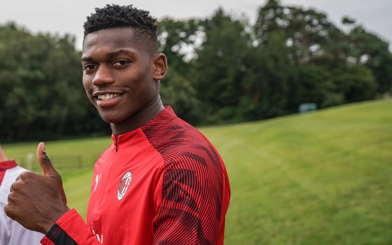 Rafael Leao, attaccante del Milan arrivato dal Lille: è in ballottaggio con Castillejo