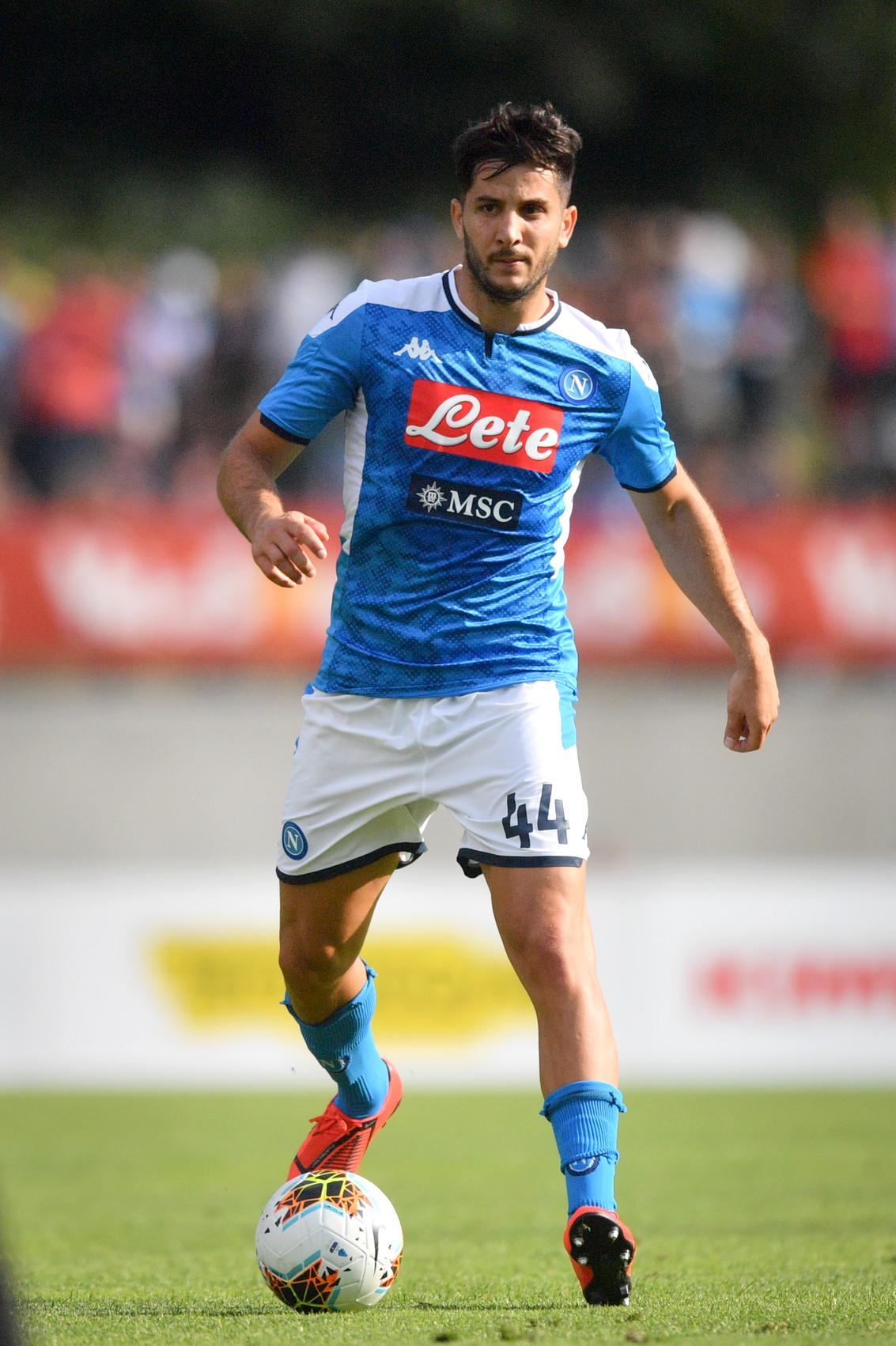 Kostas Manolas, difensore del Napoli arrivato dalla Roma