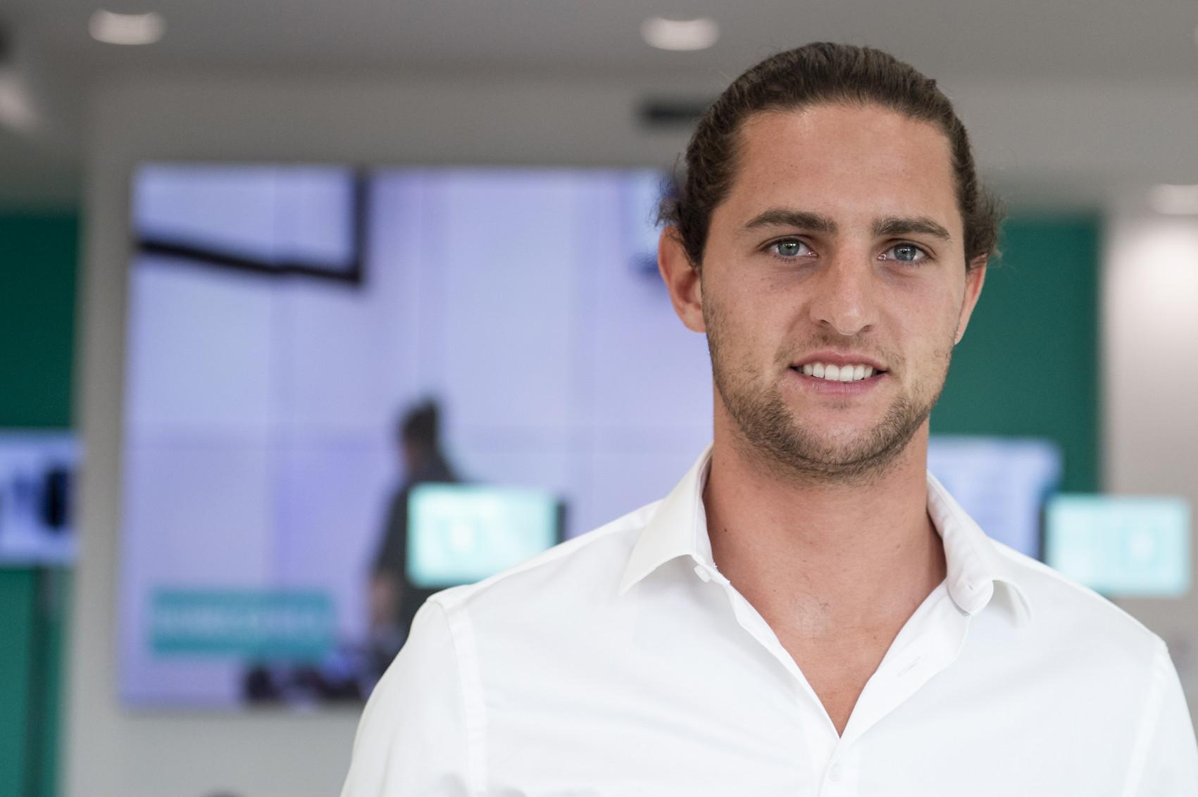 Adrien Rabiot, centrocampista della Juve arrivato dal Psg