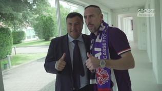 Ribery nuovo idolo di Firenze