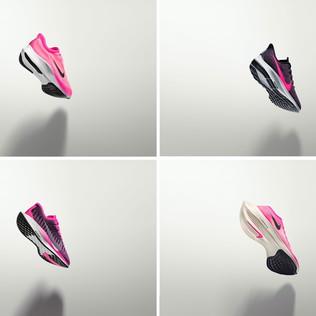 Nike rosa neon per la corsa