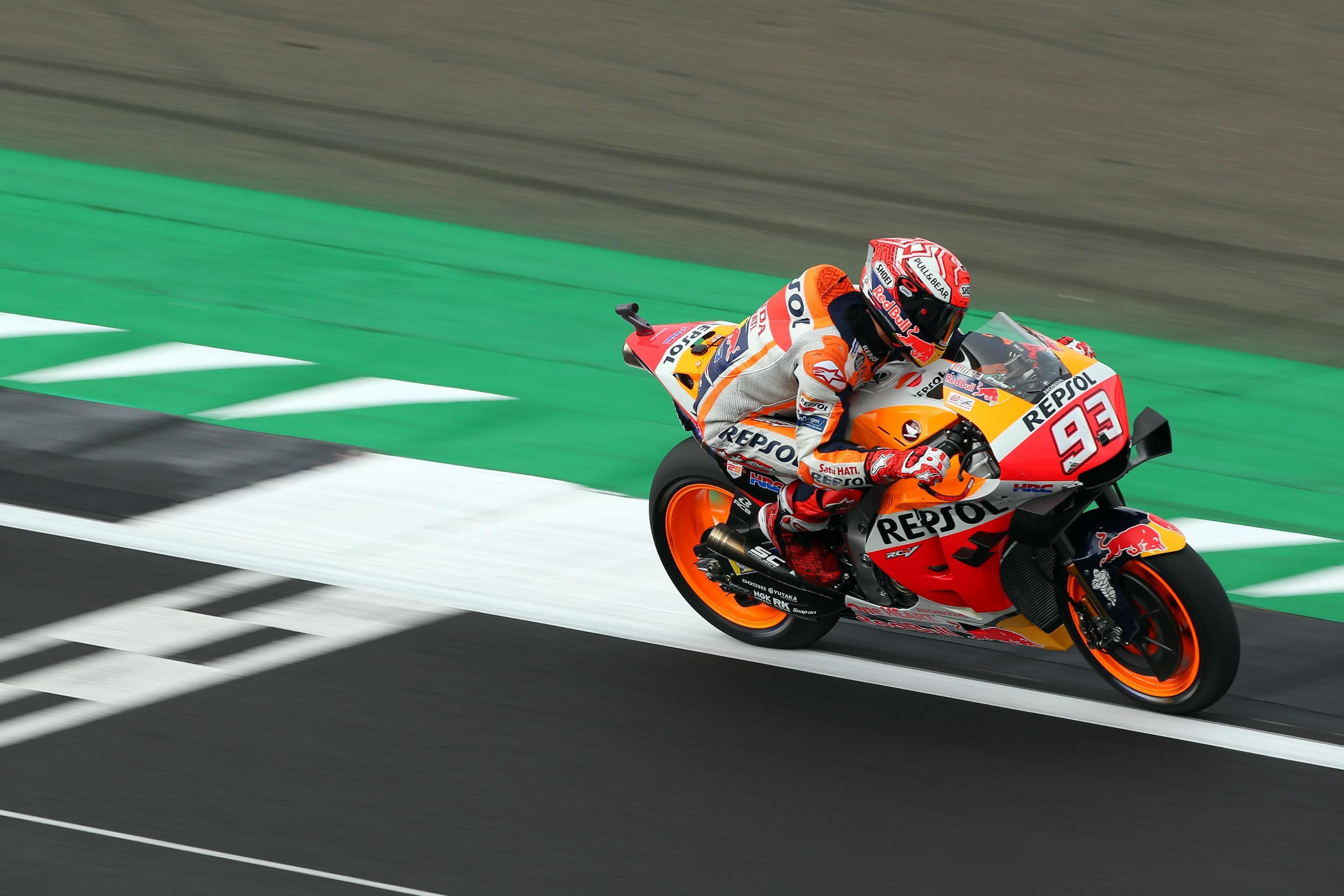 Venerdì di libere in MotoGP per il Gran Premio di Gran Bretagna